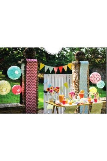 chemin de table zigzag 9 coloris candy bar dco table mariage - Chemin De Table Color