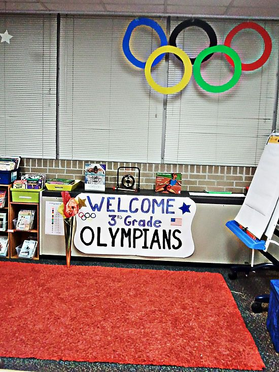 Classroom Welcome Decor ~ Best images about olympic theme classroom on pinterest