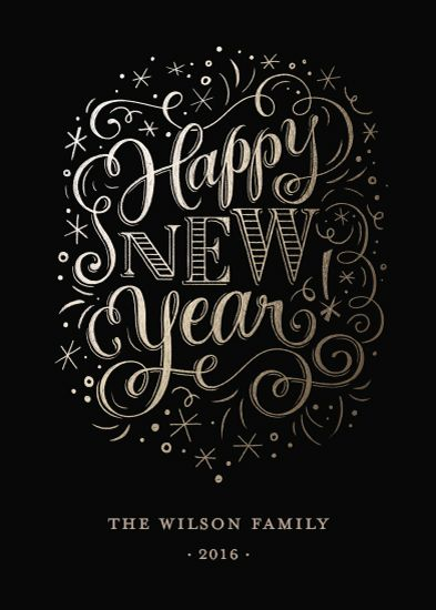New Year Glitz by Laura Bolter Design