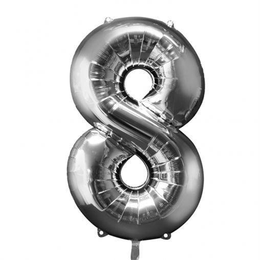 Faites de votre fête d'anniversaire une réussite avec ce de ballons hélium chiffre 8 !