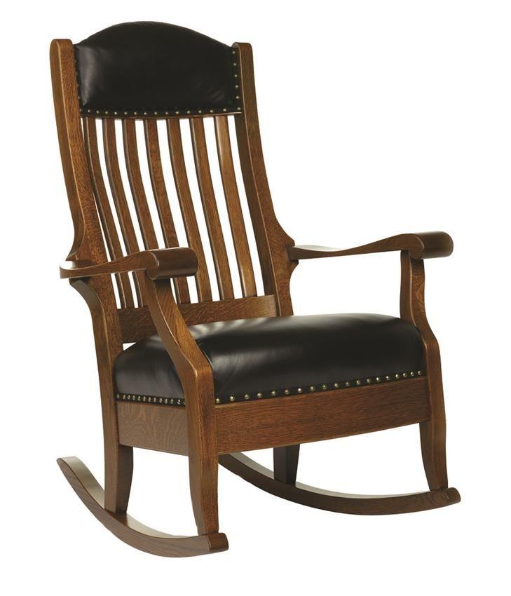 amish shackleton wide rocking chair