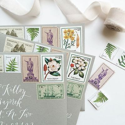 How to Use Vintage Stamps - ebay