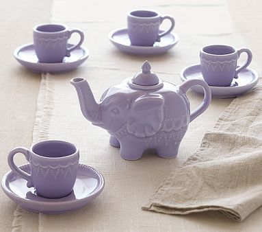 Elephant Tea Set