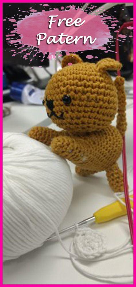 Cats Crochet Amigurumi Pattern Free Crochet Crochet Crochet