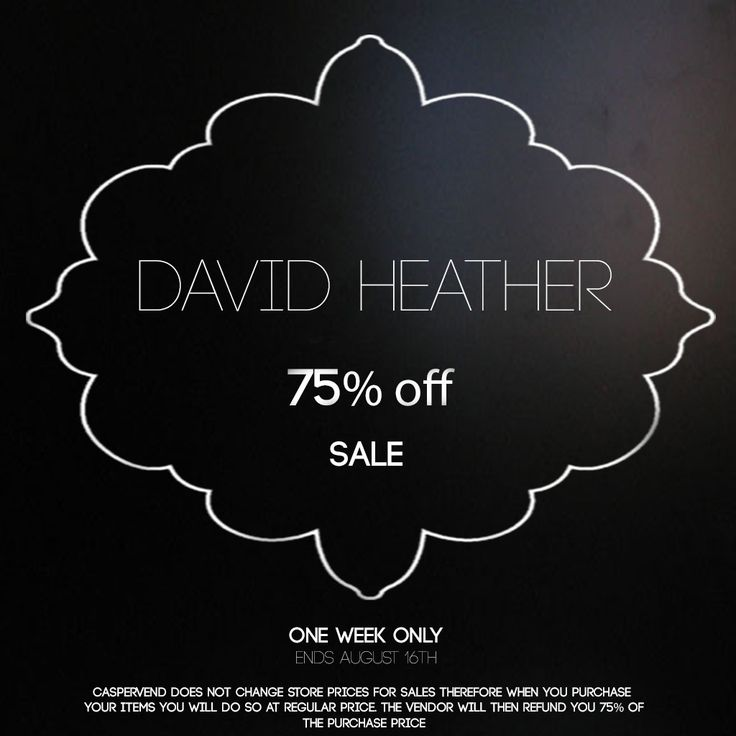 https://flic.kr/p/KYBsJs | DH 75 SALE | maps.secondlife.com/secondlife/David%20Heather/81/121/23