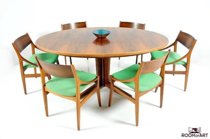 Set of 6 Dining Chairs by H. Vestervig Eriksen