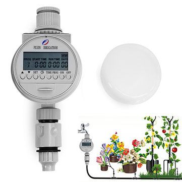 Solar Power Automatic Water Timer Smart Garden Water Saving Irrigation Controller at Banggood