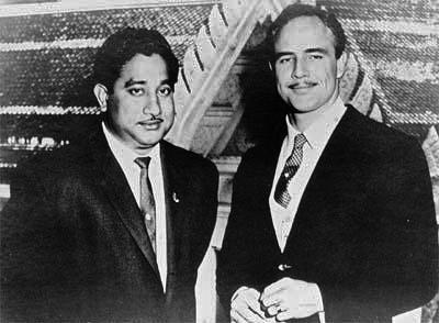 Acting Legends. Sivaji Ganesan & Marlon Brando