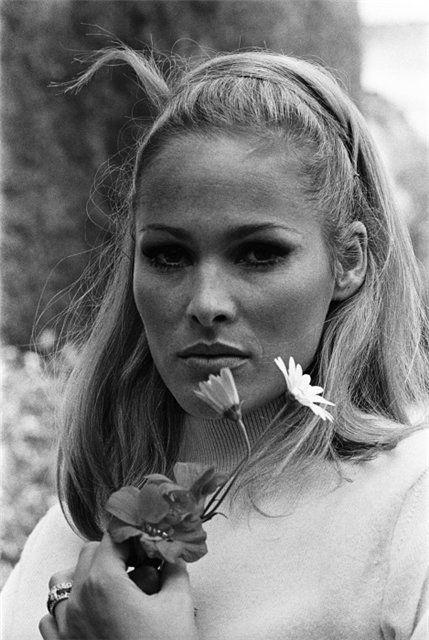 Ursula Andress, James Bond's ultimate bikini goddess.