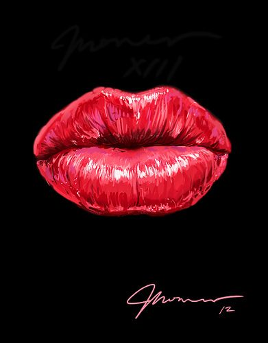 SEXY LIPS by Groenewold Mauricio, via Behance