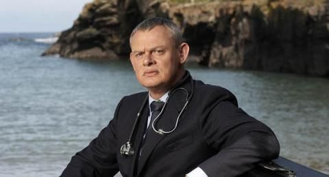 """Martin Clunes in """"Doc Martin"""". (Photo: ITV) Filming Begins on 'Doc Martin' Season 7 