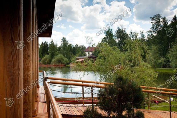 Баню можно использовать как домик для гостей