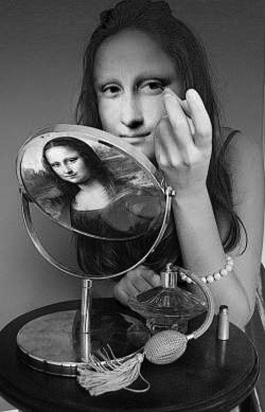 Mona Lisa:Clara Mona.Diseño de:RUDOLFS KRISTAPSONS.Letonia.