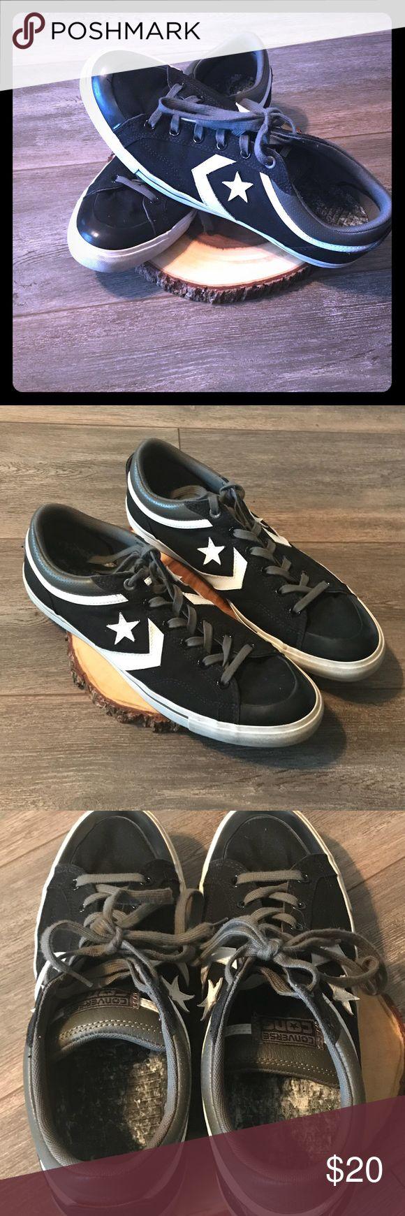 Converse men's shoes Black and white Converses men's shoes size 13 Shoes Sneakers