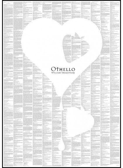 Othello - Book Poster - http://spinelessclassics.com.au/othello