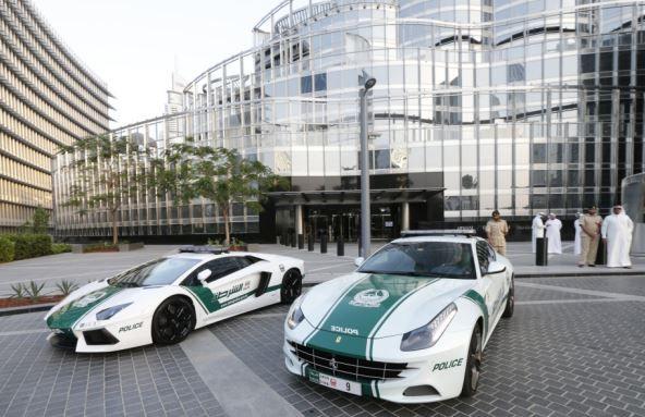 Luxury Dubai Police Cars