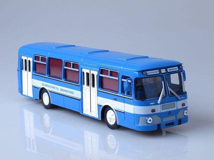 Масштабная модель автобуса ЛИАЗ-677М безопасность движения