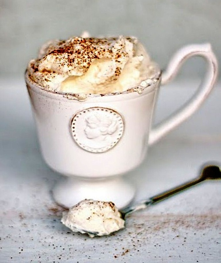 Coffee & whip cream ☕ Coffee and Hot Chocolate Pinterest
