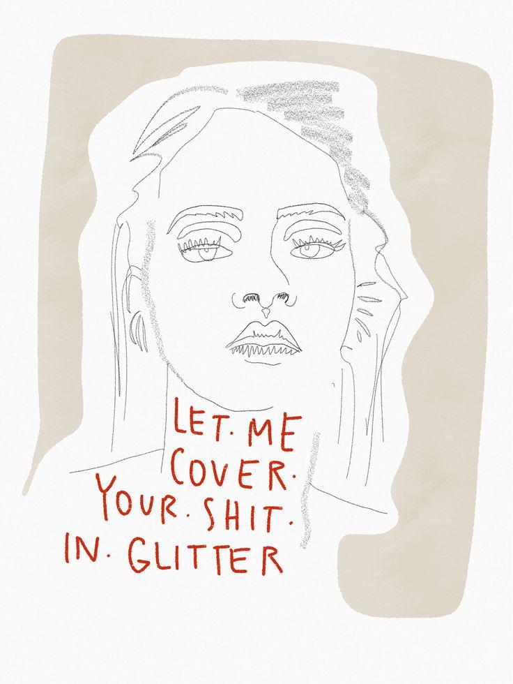 @badgalriri illustration ilustración Rihanna watercolor Anti by @theheadhunt #anti #rihannaillustration #rihannailustracion #rihannawatercolor #watercolor #shitglitter