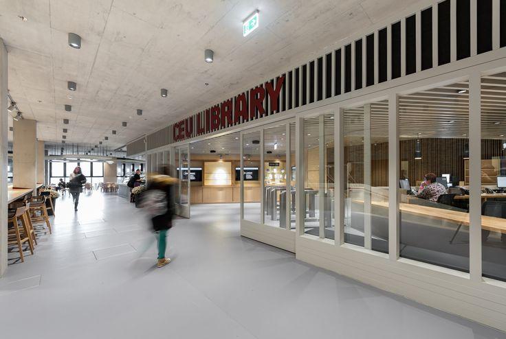Central European University wayfinding system, Budapest, Hungary, complex, design, system development, graphic design, material, industrial deisgn, installation. Wayfinding by REMION