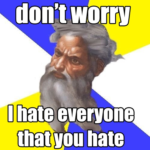 God does always seem to be a little dumber and a little more bigoted than whoever happens to be telling me about Him. - Bastion: Thoughts, God Plans, God Memes, God Is, Funny Stuff, Advicegod, Republican Jesus, Funny Sht, Advice God