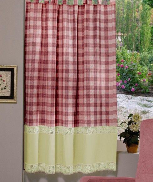 Perdea confecţionată Valentini Bianco PR009 Burgund