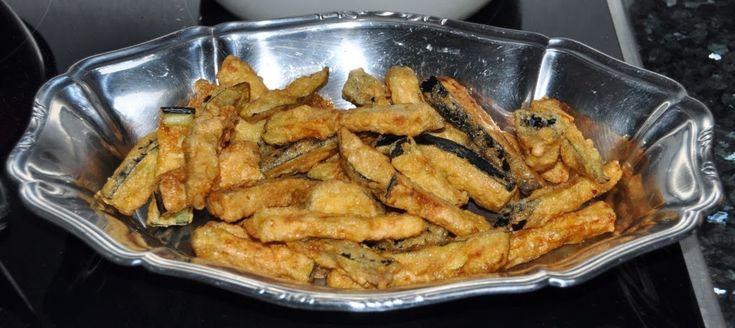 A B C vos IG: Frites d'aubergines (IG bas)
