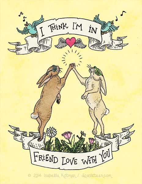 I Think I M In Friend Love With You An Ace Space Pinterest