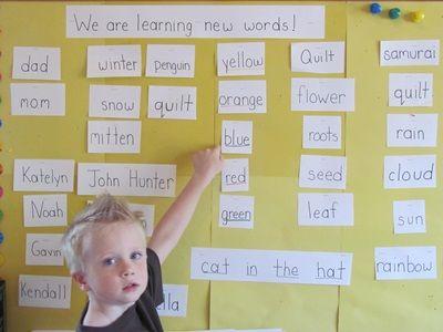 Beyond the word-wall from Teach Preschool