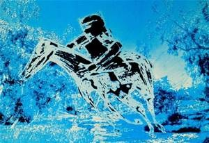 SIDNEY NOLAN, Lithograph, Kelly and Horse