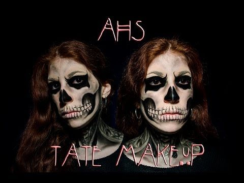American Horror Story -Tate Makeup Tutorial - YouTube