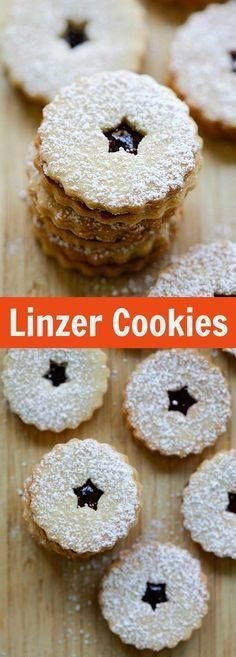 Linzer Cookies  but Linzer Cookies  buttery and crumbly Linzer...  Linzer Cookies  but Linzer Cookies  buttery and crumbly Linzer Cookies recipe that is loaded with raspberry jam and dusted with powdered sugar. Must-bake for holidays | rasamalaysia.com Recipe : http://ift.tt/1hGiZgA And @ItsNutella  http://ift.tt/2v8iUYW
