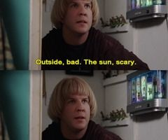 sunscreen eaters these days... lol nick swardson is too funny