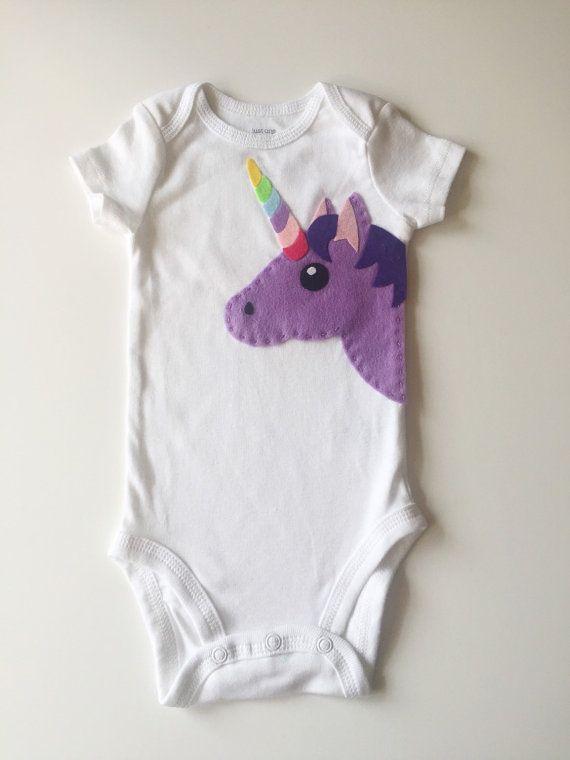 Unicorno bambino onesie vestito bambino abbigliamento  magico