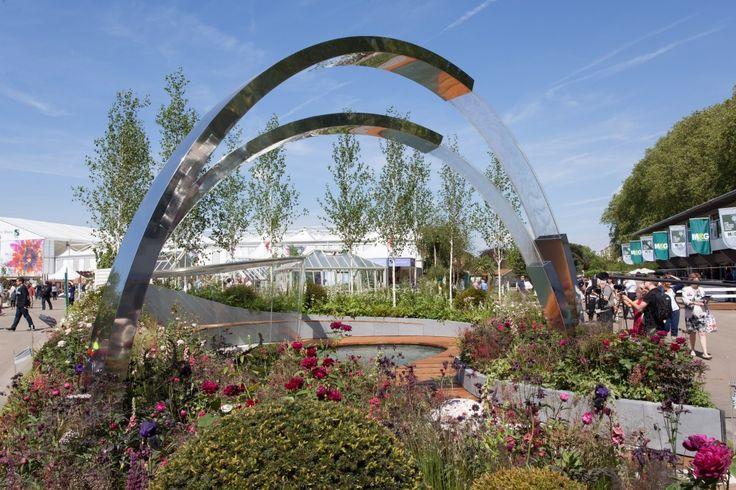 Positively Stoke-on-Trent Garden at 2014 RHS Chelsea Flower Show  www.bartholomewlandscaping.com