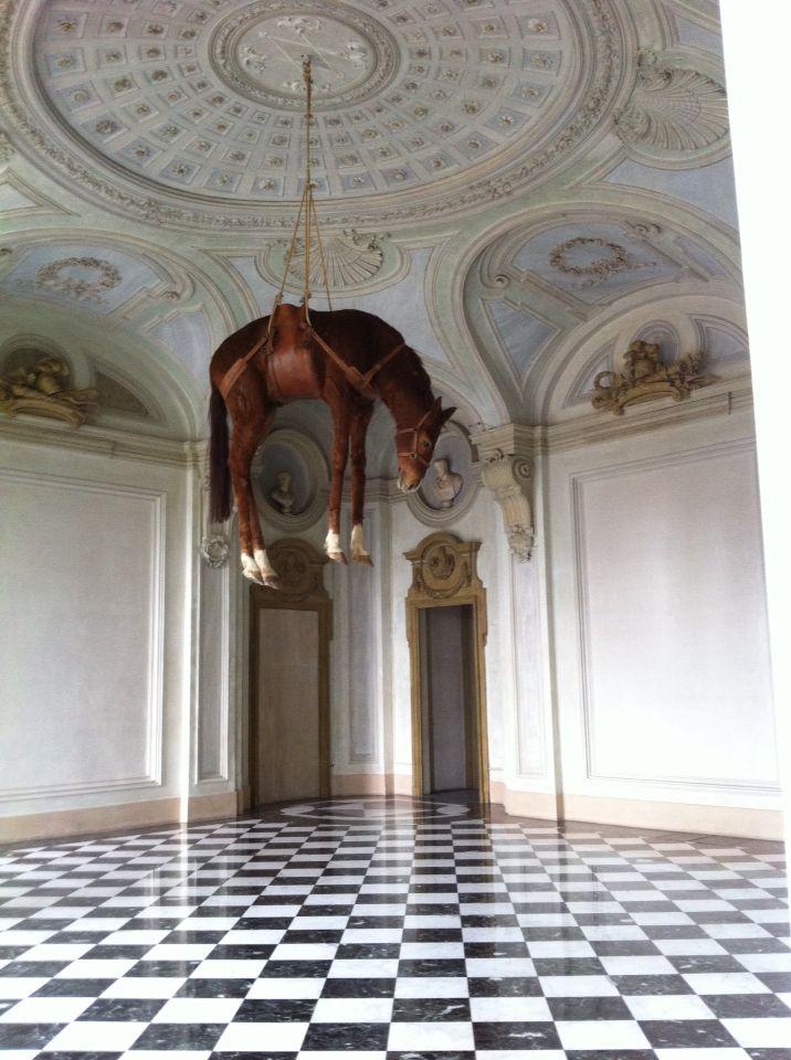 Cattelan M_novecento, 2008, castello di Rivoli, Torino