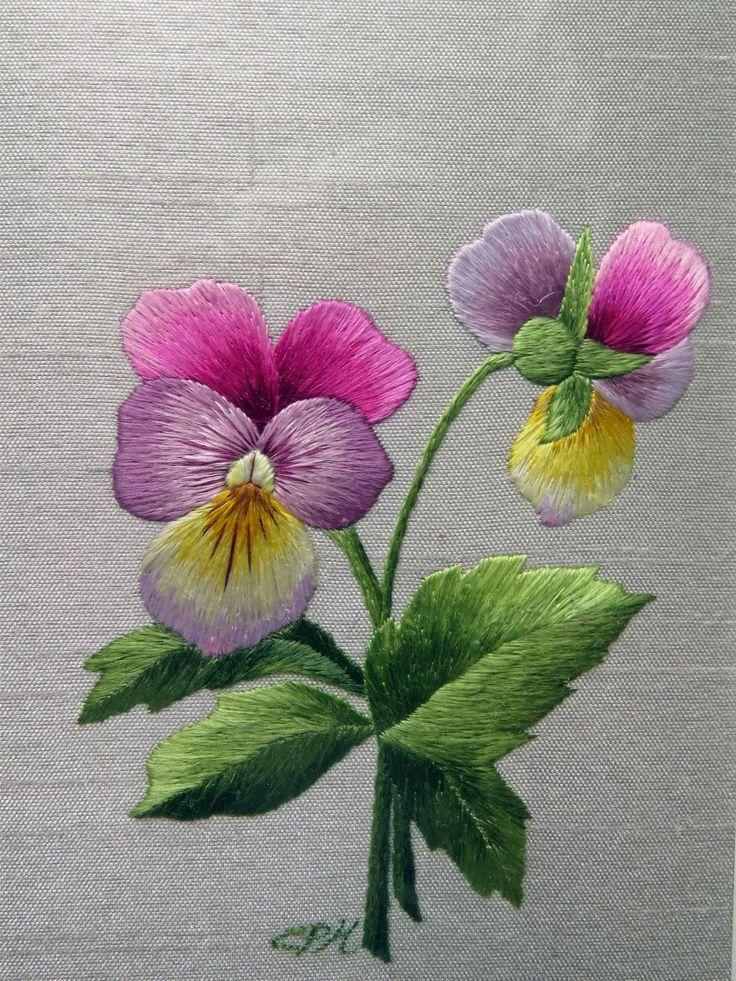 Beautiful needle painting