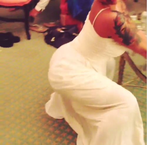 BRIDES GONE WILD:  Amber R0se POSTS Pre-WEDDING TWERK VIDEO! - http://celeboftea.com/brides-gone-wild-amber-r0se-posts-pre-wedding-twerk-video/