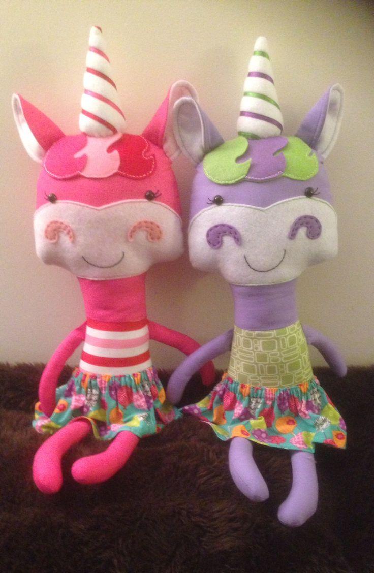 Unicorns - pattern by Dolls and Daydreams
