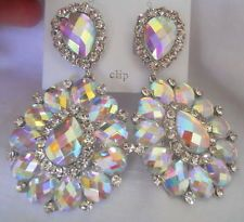 Ebay Crystal Earrings - Perfect for a pageant girl!