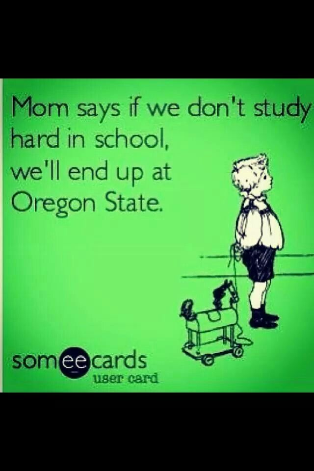 Hahahaha. Only an Oregon ducks fan would understand