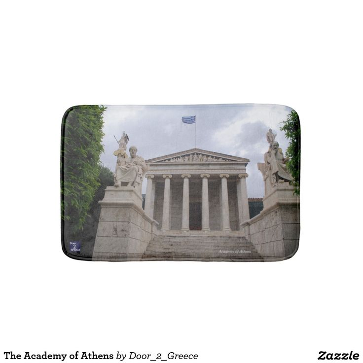 The Academy of Athens Bath Mats
