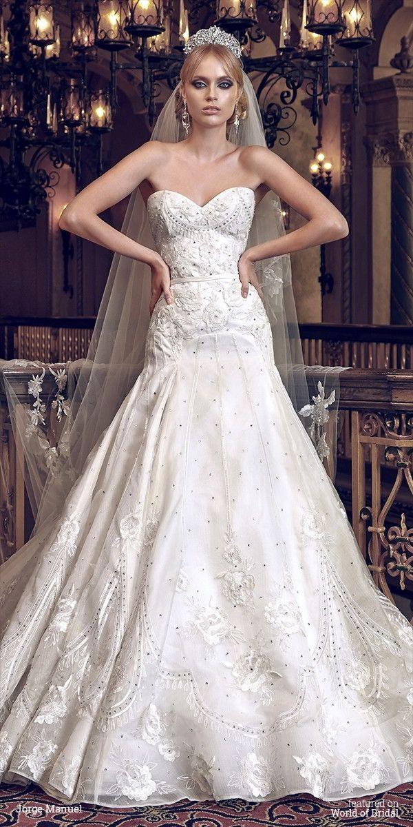 Jorge Manuel 2016 Wedding Dress