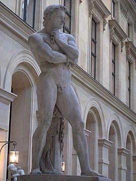 Espartaco (Tracia, 113 a. C.-Lucania, 71 a. C.)dirigió la rebelión más importante contra la República romana en suelo itálico (conocida como III Guerra Servil, Guerra de los Esclavos o Guerra de los Gladiadores), hecho ocurrido entre los años 73 a. C. y 71 a. C.contribuyó al desarrollo de una serie de procesos socio-económicos que a la larga resultaron en la caída de Roma y el final de la esclavitud como modo de producción predominante en Europa. es.wikipedia.org/wiki/Espartaco