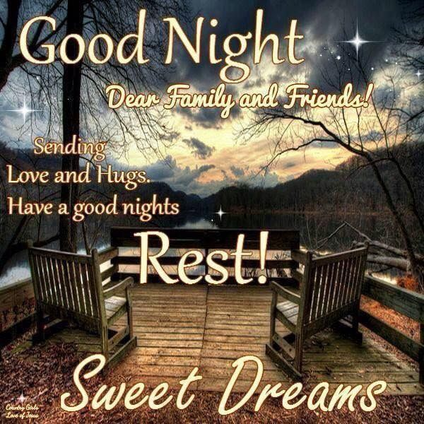 Good night's rest