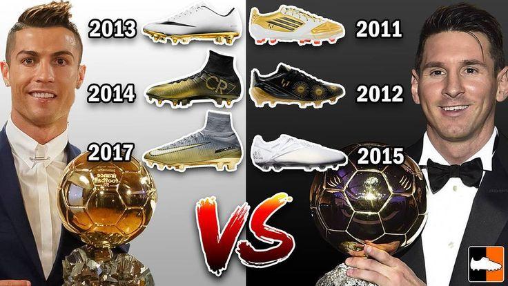 Ronaldo or Messi? We compare Ballon d'Or Boots for the two superstars! Video live on our channel: http://ift.tt/2AZnVua #Superfly #NikeFootball #Nike #NikeSoccer #NikeCR7 #NikeMercurial #NikeVapor #MercurialSuperfly #Superfly5 #SuperflyV #Ronaldo #CristianoRonaldo #SoccerCleats #FootballBoots #Cleats #Boots #F50 #Ballon #BallonDor #adizero #Messi #LeoMessi #Barcelona #Gold #Nemeziz #MessiNemeziz