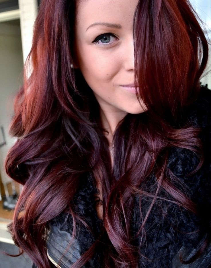 42 best reds images on pinterest hairstyles make up and braids just dyed my hair this color i love it with my green eyes pmusecretfo Gallery