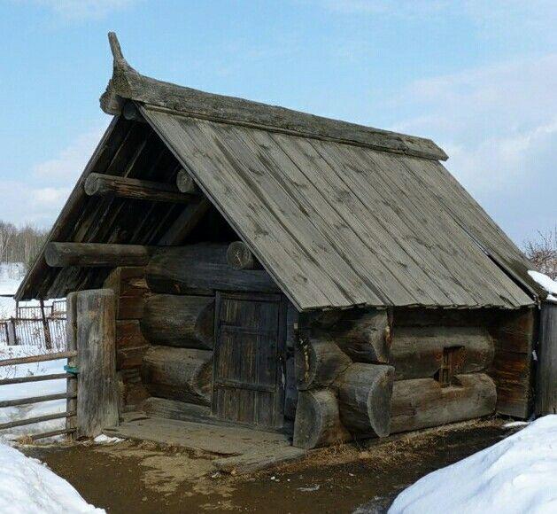Любимая банька из далёких времён.  Село Нижняя Синячиха (привезена из села…
