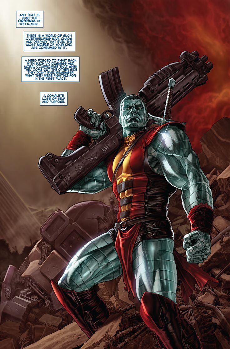 colossus marvel x men - photo #35