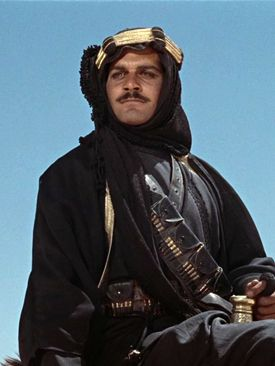 Sharif in Lawrence of Arabia - Omar Sharif - Wikipedia, the free encyclopedia